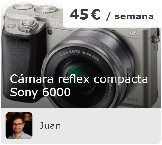 camara sony marketplace